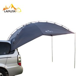 Discount large tents for camping - High quality 3-4 person use suit for most car sun shelter camping tent large awning