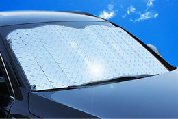 Discount front end car - HOT NEW Applied Foldable Car Windshield Visor Cover Block Front Rear Window Sunshade Protect Car Window Film Sunscreen
