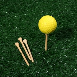 Dominierende 100 stücke 83 MM Durable Bambus Holz Golf T Golf Spielen Zubehör Bambus Holz Golfen Training T Kostenloser Versand