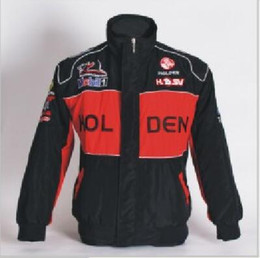 Chinese  Embroidery LOGO F1 FIA NASCAR IndyCar Racing Cotton Jacket for Holden V8 Supercar Touring Racing Team Jacket 0879 manufacturers