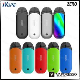 Zero glass online shopping - Vaporesso ZERO Pod Kit wih Zero Pod Refillable ml CCELL Coil Buit in mAh Battery Auto Temperature Control PTFTM System Original