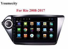 Gps Kia Rio Canada - NEW! 2G RAM For RIO Android 8.1 Car DVD player Gps for KIA Rio 2008 2009 2010 2014 2011 2012 2013 2015 2016 with Radio RDS wifi