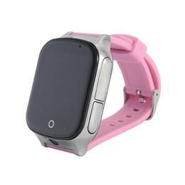 Discount sim watch 3g - 3G Smart GPS Tracker Watch Elderly Kids Wristwatch WIFI Locator With Camera Sim Voice Message SOS Free APP IOS Android P
