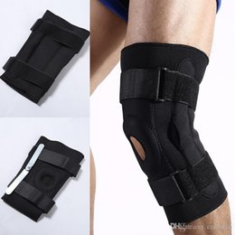 Leg guards for basketbaLL online shopping - Free DHL Knee Support Adjustable Knee Pads Support Brace Protect Safety Guard Strap for Basketball Support Leg Knee G448S