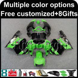 Kawasaki Zx 7r Fairings Australia - 23colors+8Gifts green black bodywork motorcycle Fairing For Kawasaki ZX7R 1996-2003 ZX-7R 96 97 98 99 00 01 02 03 04 05 06 07 ZX 7R