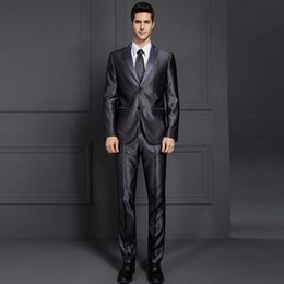 Suits Price NZ - Wholesale Price Pure Black Wedding Tuxedos Groom Suits Business Suits Two Pieces Custom Made Varied Classic Style
