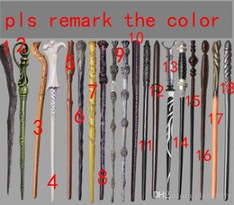 $enCountryForm.capitalKeyWord NZ - Creative Cosplay 18 Styles Hogwarts Harry Potter Series Magic Wand New Upgrade Resin with Metal Core Harry Potter Magical Wand