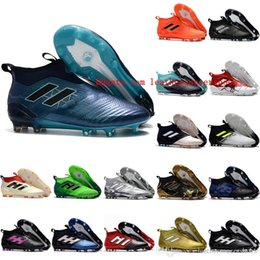 bad58981d84 2018 ace 17 purecontrol FG ace 17.1 Crampons de football boots mens high top  ankle soccer cleats dragon soccer shoes outdoor chuteiras men