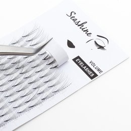Wholesale Seashine D Blink Middle Premade Volume Eyelashes Extension Handmade C Individual Lashes Makeup And Beauty Eyelash