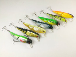 jointed minnow lures Canada - Lot 15 Fishing Lures Jointed Minnow Crankbait Hooks 8.8g 8cm