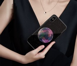 $enCountryForm.capitalKeyWord NZ - For iphone X 6 6S 7 8 Plus Xs Max Xr Case New All-Inclusive Star 9H Tempered Glass Pattern iphone Cover Case Back Protective Shell