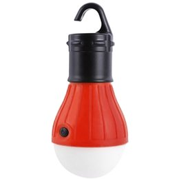 Wholesale Outdoor Hanging LED Camping Lamp Tent Night Light Bulb Fishing Lantern Lamp Mode Camping Tent Light for home