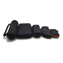 $enCountryForm.capitalKeyWord UK - Carrying Zipper Fabric Cases Leather Box For Bluetooth Speaker Cosmetic Tool Atomizer Electronic Vaporizer E-cig Kit