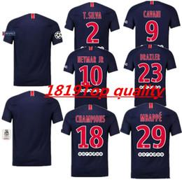 b775a1ab2d1 2018 2019 NEYMAR JR Soccer jerseys thai quality Mbappe football jersey PARIS  3RD VERRATTI CAVANI DI MARIA DANI ALVES black maillot de foot