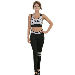 $enCountryForm.capitalKeyWord UK - Sexy Fitness Running Sportswear Summer Yoga Clothing Set Gym Sportswear Fitness Workout Sport Suits Tracksuit For Women Mujer