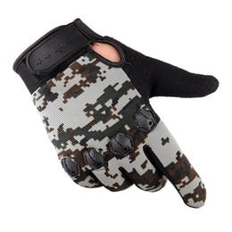 Discount army gloves - 2017 Men Fashion Warm Cashmere Male Winter Camouflage Gloves Driving Winter Long Fingerless Gloves Hand Warmer Male Anti