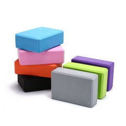 Block Shapes NZ - Yoga Block Brick Pilates Sports Exercise Gym Foam Workout Stretching Aid Body Shaping Health Training 1x Yoga Block