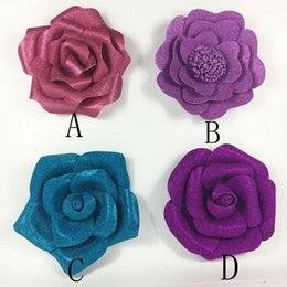 Big paper flowers wedding online shopping big paper flowers big paper foam flowers 16pcs mixed sizes stage wedding party event background decorations decoracao de festa 24 colors option mightylinksfo