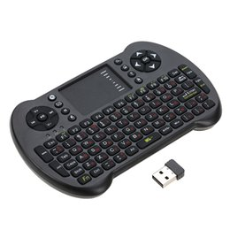 $enCountryForm.capitalKeyWord UK - 2.4G Mini USB Wireless English Russian Spanish Hebrew Version Keyboard Touchpad & Air Fly Mouse Remote Control for Smart Phone