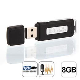 $enCountryForm.capitalKeyWord NZ - Best price ! Mini USB Digital Pen Audio Voice Recorder Dictaphone 8GB Flash Drive U-Disk BK high quality jun29