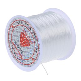 $enCountryForm.capitalKeyWord NZ - 7SIZES WHITE NO Stretchy Crystal String Beading Cord Thread Wire jewelry making
