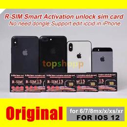 Новый RSIM13 идеальный unlcok ios12 РНМОТ 13 умный активации разблокировки SIM-карты ICCID unlcoking rsim13 для iPhone iOS12 4G и CDMA и WCDMA и GSM со спринта