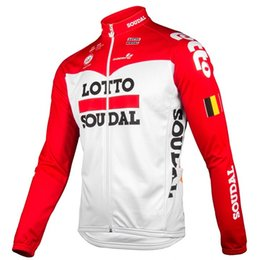 8c9f3cd20 winter thermal fleece 2018 uci pro team red cycling jersey mens warmer Bicycle  maillot MTB bike clothing Ropa Ciclismo only discount bike only jerseys