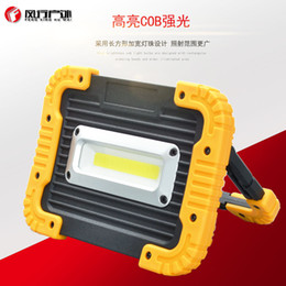 Led buLbs for fLoodLights online shopping - Portable Camping Lights W LED COB Work Lamp USB Rechargeable Waterproof IP44 Floodlight For Outdoor