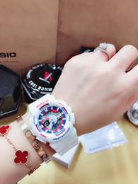 g shock digital watches 2019 - G 100 Style Shock Digital Men LED Quartz Sports Watch Strap Rubber Army Military Quartz-watch Clock Waterproof Wrist Rel