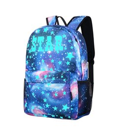 Unisex backpack s mujer 2018 Galaxy School Travel Hiking Bag Backpack  Collection Canvas For Teen Girls Kid be6c74cecc81f