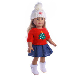 Chinese  11 Styles 43cm Baby Born Zapf Doll Sweater Clothes Christmas Suits Fit 18 Inch American Girl Doll For Children Best Gift manufacturers