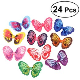 Dog Grooming Hair Clip Australia - 24PCS Cute Puppy Hair Bows Cat Hair Clips Dog Topknot Small Bowknot Pet Grooming Accessories - Pic. 1