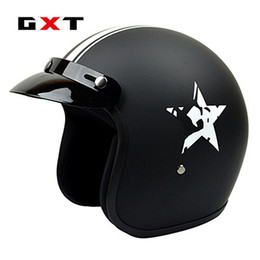 $enCountryForm.capitalKeyWord NZ - GXT Half Open Face Motorcycle Fiberglass Helmet Retro Casco De Moto Racing Sport Headgear Vintage Head Harley Motorbike Helmets