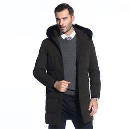 $enCountryForm.capitalKeyWord UK - 2018 Winter new brand Raccoon Collar Men's Park jacket Men's long Hooded Padded Fashion Warm jacket More size M-4XL 5XL 6XL