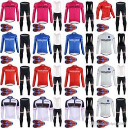 2018 Tour de Italy Men Summer Cycling long Sleeves jersey Shirt Bicycle  Clothes MTB Bike Wear bib pants sets 9D gel pad D1735 1f4ca6ca9