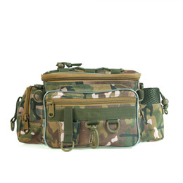 lures bag waist Australia - LEO 28012 Outdoor Hunting Pack Fishing Pack Bag Waist Waist Belt Tools Bag Camouflage Lure Ftoaq
