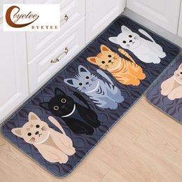Kitchen Cushions NZ - [byetee] Kitchen Floor Carpets And Mat Door Mat Door Bathroom Non-slip Cushion Suit Bedroom Carpet For Rugs Rug Doormat
