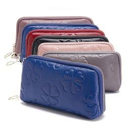 Модные женские кошельки с карманом для монет Длинный кошелек с застежкой-молнией для женщин Дневной клатч Женский кошелек Большой кошелек для мобильного телефона