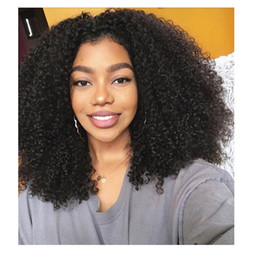 $enCountryForm.capitalKeyWord NZ - hot sales ladies Brazilian Hair afro kinky Curly Wig Simulation Human Hair Kinky Curly Wig for women in stock