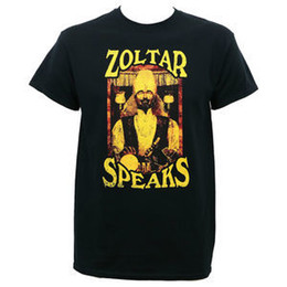 f63daec1 Printed Round T Shirt Cheap Price Crew Neck Men Casual Short Zoltar Speaks  Poster S-4Xl Tee Shirts