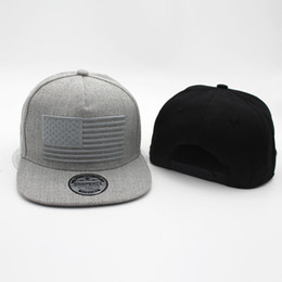 Bordado 3d cap online-Sombreros bordados populares de la bandera de los EEUU  Sombreros gordos 42f6ebdf10a