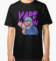 $enCountryForm.capitalKeyWord NZ - Vape Nation Men's Black Tees Shirt Clothing T Shirt O-Neck Summer Personality Fashion Men T-Shirts Casual Printed Tee