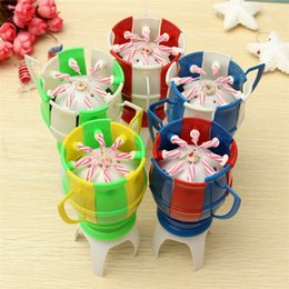 music birthday candles UK - Originality Trophy Shape Candles Wax Birthday Party Decorations Candle Music Color Automatic Flowering Bougie With 4 Foot Support 6zy jj
