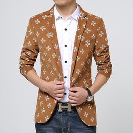 hot male blazers 2019 - Men's Clothing Suits & Blazer Fashion Business Men Casual Jackets & Coats Hot Sell Male Slim and Comfortable Blazer