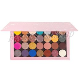 $enCountryForm.capitalKeyWord Australia - Hot Makeup Palette 28 Colors Eyeshadow Large Professional Palettes Matte Metallic Satin Pressed Powder Palleta Eyes Beauty Plate DHL Free