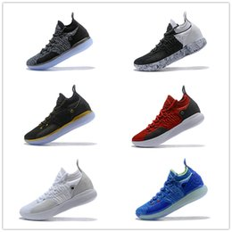 cf063a9bc4b4 2018 New Top Kevin Durant 11 Basketball Shoes Mens Durant KD 11 Gold  Championship MVP Finals Sports training Sneakers Run Shoes