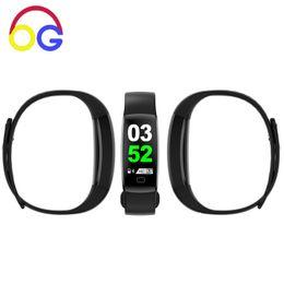 Wrist Band Pedometer Australia - OGV Smart Watch Bracelet F64 Wrist Pedometer Fitness Tracker Smart Band 30 Meters Waterproof Wristband for IOS Android Xiaomi