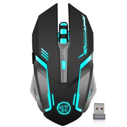 $enCountryForm.capitalKeyWord Canada - Rechargeable Wireless 2.4GHz LED Backlit Mouse USB Optical 6 Button Ergonomic Silent Gaming Mouse Gamer for PC Desktop Laptop