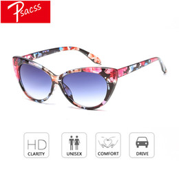 Psacss Fashion Cat Eye Sunglasses Women Brand Designer High Quality Sun Glasses  Female Outdoor Shopping Eyewear Lunette Shades 3717432178