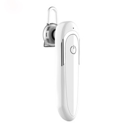$enCountryForm.capitalKeyWord UK - White Color D5 Bluetooth 4.1 Ear Hook Earphone with HD Microphone Wireless Earpiece Car Earbuds